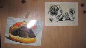 Auch diese 2 Dankes- Karten erreichten mich, beim lesen  kämpfte ich vor Rührung mit den Tränen