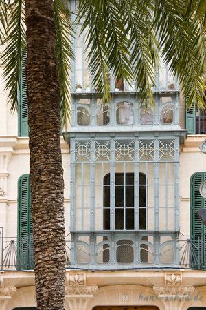 Fasade in Palma de Mallorca