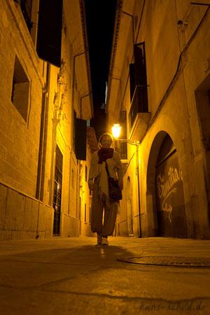 nachts in Palme de Mallorca