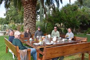 Frühstück auf der wunderschönen Farm Brigadoon