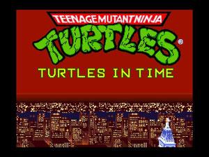 Teenage Mutant Ninja Turtles Turtles In Time [Portable] [DF]