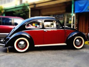 VW Beetle, Manila, 2012