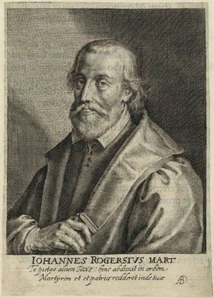 John Rogers. Image from Wikipedia - http://en.wikipedia.org/wiki/John_Rogers_(Bible_editor_and_martyr)
