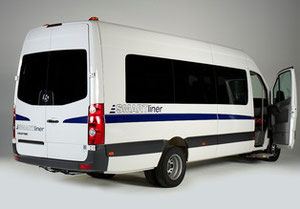 Smartliner M2 Bus with front access.