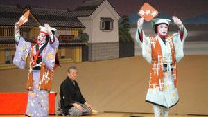 会主皐月由樹寿先生と特別出演若月仙之丞家元