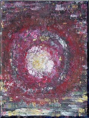Galaxien, gemalt am 01.02.09