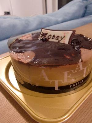 昨日頂いたケーキ♪