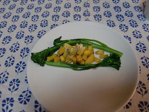 前菜 温野菜サラダ