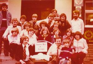 Eierverzehr 1978 im Hotel Steffens