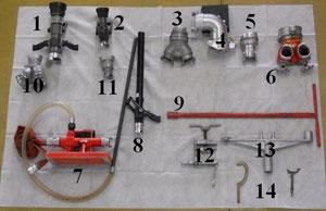 Matériel hydraulique