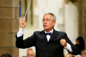 Le chef d'orchestre:  Bernard Fouler