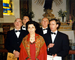 Quatuor Vocal du Léon - Carantec:Chapelle N.D. de Callot