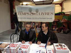 Dédicaces Thomas Legrand et Philippe Bercovici