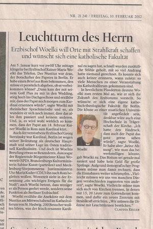 Berliner Tagesspiegel - 10.02.12