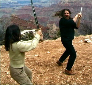 Schwertkampf Grand Canyon