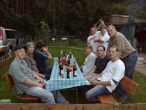 Grillfest der Jungjäger