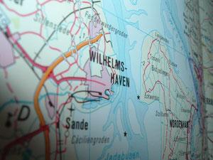 Südstrand in Wilhelmshaven - Zentrum von Friesland