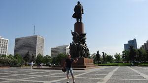 am Lenin kunnt ma in Moskau afach net vorbei