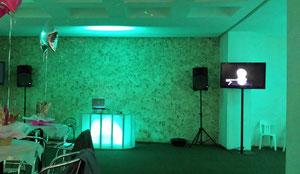 montaje de dj para fiestas evento en Polanco