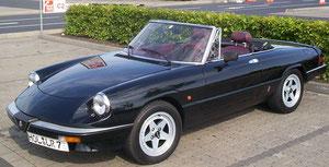 Alfa Romeo Spider 2.0 schwarz
