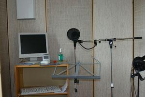 Wird bald abgebaut: das Hörfunkstudio im Techmoteum