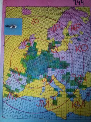 QRV VHF-UHF (144 / 432 -> 2003 to 2014) -  (UHF 1296 ->2012 to 2013)