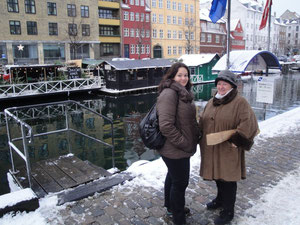 Sur le canal de Christianhavn