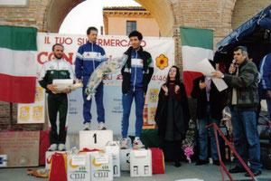 Cavalcata dei colli bertinoresi (1993). Il podio.