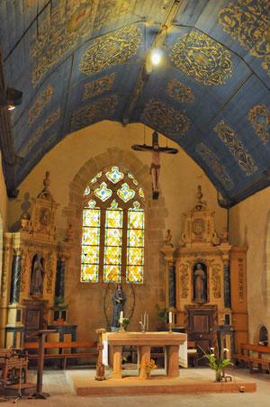 Le choeur de l'église