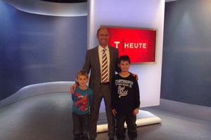 Meine Jungs beim ORF und dem Sehr Sympathischen Georg Laich