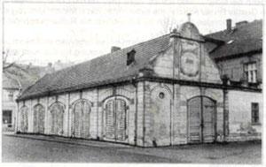 Feuerwehr Depot bis 1925
