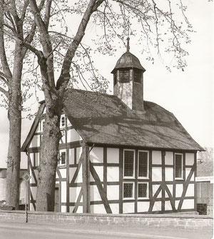 Fachwerk-Kirche von Rudlos