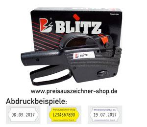 Preisausezichner Blitz C8