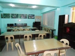 クラークフィリピン留学院自習スペース