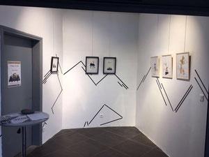 Exposition Pitons texture, Cité du Volcan, juillet - octobre 2018