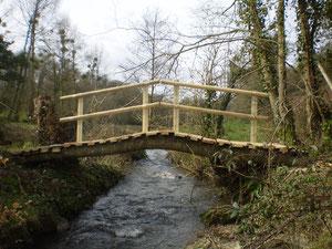Pont construit par l'association