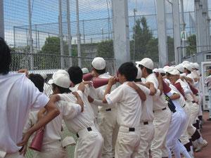 軟式野球部2011.07.23日体荏原戦勝利