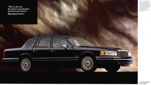 Lincoln Town Car II ab 1990 Prospekt