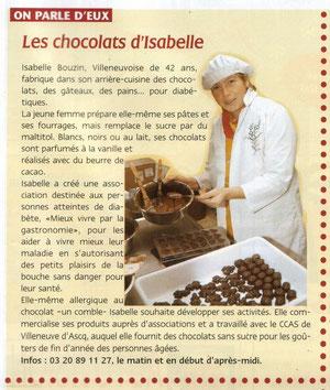 Le chocolat sans sucre fait son effet !
