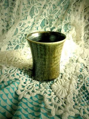 自然釉 夢狂 こだわりのビールカップ