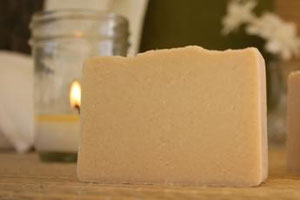 Unscented Natural Goat Milk Soap