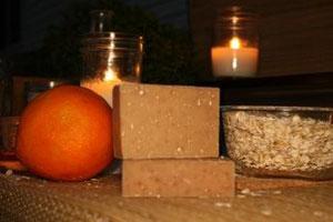 Tea Tree Mint Orange & Oats Goat Milk Soap