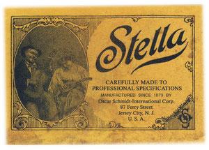 1930's Oscar Schmidt  Stella Paperlabel