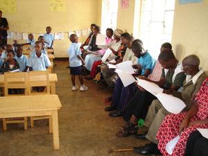 Dernier jour d'école - Remise des évaluations aux parents