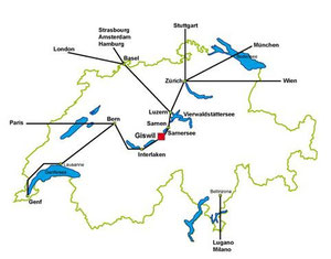 ab Solothurn in 1.5 Std. Nachtskifahren