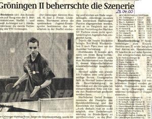 Herren II 1999/2000