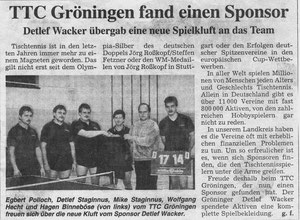 Sponsor D. Werker 1992