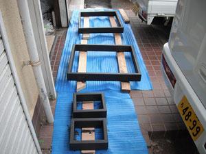 テーブル脚塗装_2