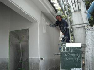 塗装(上塗り状況)