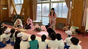 AAE動物介在教育 小学校